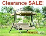 Outdoor Swing Patio Chair, Waterproof Canopy/Cushion SALE!!
