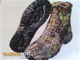 NEW!!! BOOTS- TREECAM-WATERPROOF-BREATHABLE-SIZES 6 TO 14