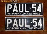 Number Plates Victoria