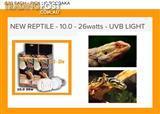Reptile uvb lights 10.0 26w