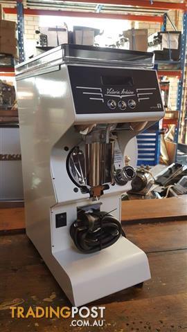 COFFEE GRINDER MACHINE VICTORIA ARDUINO MYTHOS 1 WHITE NEW ESPRESSO