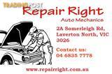 Auto Repair and Service Just at $89 at Repair Right Auto Mechanics