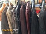 10 vintage leather jackets $90