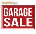 Garage Sale - Sat 26th, 8.00am, Woodville West
