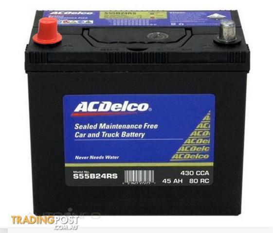 New Premium HONDA NS60S X60D 430CCA Car Battery ACDelco S