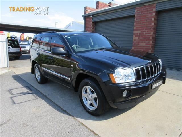 2007 JEEP GRAND CHEROKEE LIMITED (4x4) WH 4D WAGON