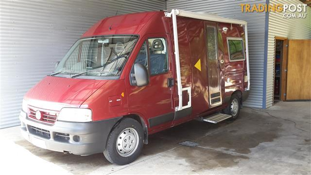 2008 Paradise Freetime Fiat Ducato Motor Home For Sale In