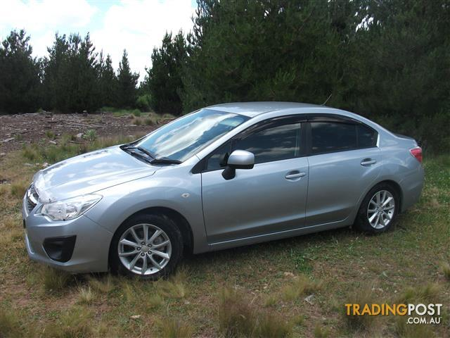 2013 SUBARU IMPREZA 2.0i-L (AWD) MY13 4D SEDAN
