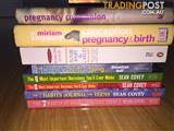 SELF HELP AND PREGNANCY BOOKS FOR CHEAP