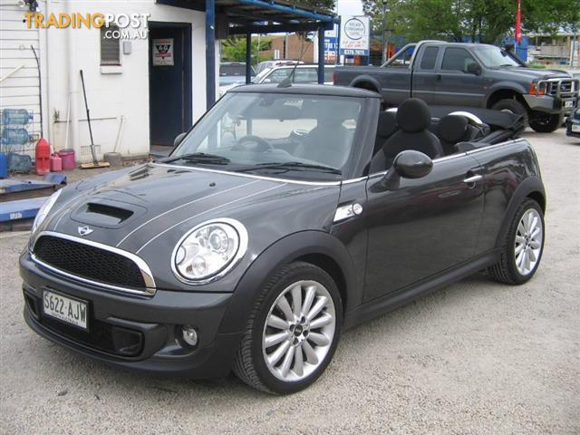 mini cooper cabrio chilli r57 my11 for sale in glenelg sa mini cooper cabrio chilli r57 my11. Black Bedroom Furniture Sets. Home Design Ideas