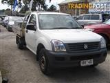 HOLDEN RODEO DX RA