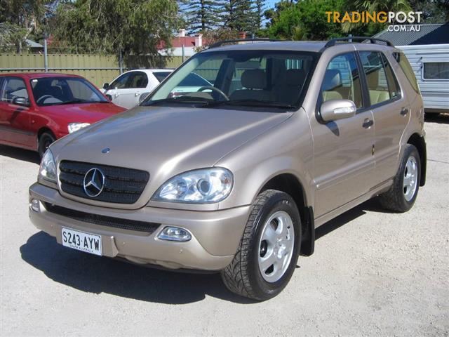 MERCEDES-BENZ-ML-320-LUXURY-4x4-W163