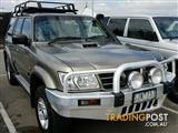 2003 Nissan Patrol ST GU III MY2003 Wagon