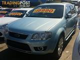 2009 Ford Territory Ghia SY Wagon