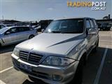 2005 Ssangyong Musso Sports  Utility