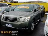 2008 Toyota Kluger KX-R AWD GSU45R Wagon