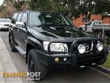2012 Nissan Patrol ST Simpson 50th Anniversary Y61 GU 8 Wagon
