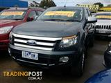 2015 Ford Ranger XLS Double Cab PX Utility