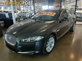 2012 Jaguar XF Luxury X250 MY12 Sedan