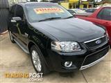 2010 Ford Territory Ghia AWD SY Mkii Wagon