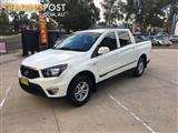 2013 SSANGYONG ACTYON SPORTS TRADIE (4x4) Q100 MY12 DUAL CAB UTILITY