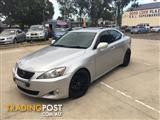 2007 LEXUS IS250 SPORTS LUXURY GSE20R 4D SEDAN