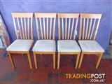 Chairs Only 4 Light Wood 369311