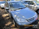 Honda Civic sedan 10/05 (wrecking)