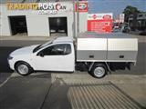 2013  FORD FALCON UTE  FG MKII 2D CAB CHASSIS