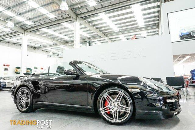 2007 porsche 911 turbo 997 cabriolet for sale in port melbourne vic 2007 porsche 911 turbo 997. Black Bedroom Furniture Sets. Home Design Ideas