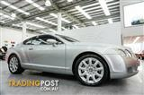 2005 Bentley Continental GT 850kms from new Coupe