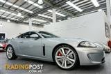 2011 Jaguar XKR 5.0 SC V8 full exterior chrome package with black and chrome trim highlights Coupe