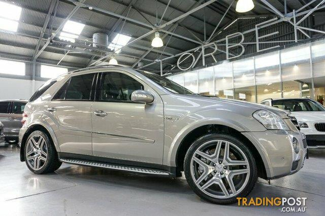 2007 mercedes benz ml 63 amg 4x4 w164 08 upgrade wagon for sale in port melbourne vic 2007. Black Bedroom Furniture Sets. Home Design Ideas