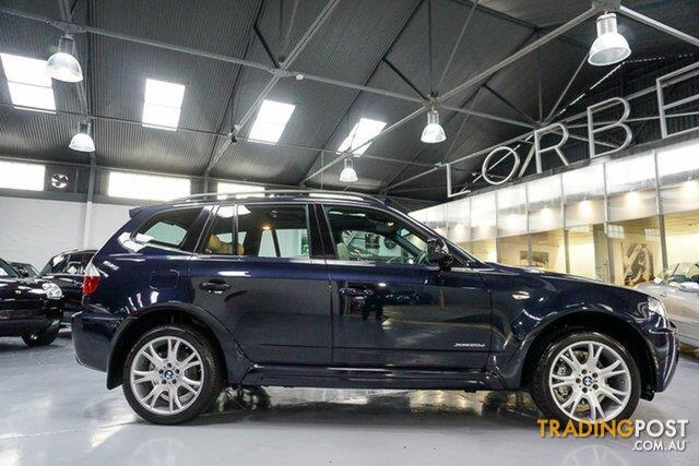 2010 bmw x3 xdrive 20d lifestyle e83 my10 wagon for sale in port melbourne vic 2010 bmw x3. Black Bedroom Furniture Sets. Home Design Ideas