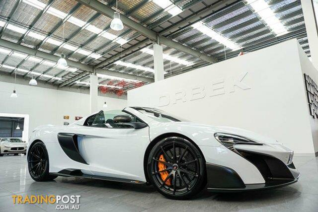 2017 McLaren 675LT SPIDER MY17 Convertible for sale in Port ...