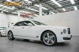 2015 Bentley Mulsanne  3Y MY16 Sedan