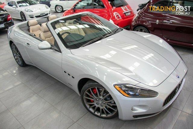 2011 Maserati GranCabrio Convertible for sale in Port Melbourne VIC ...