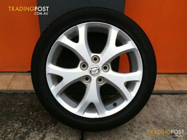 mazda sp23 srs 2 snowflake 17 inch genuine alloy wheels for sale in carramar nsw mazda sp23. Black Bedroom Furniture Sets. Home Design Ideas