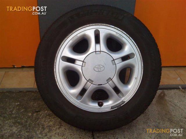 14 Inch Rims For Toyota Corolla >> TOYOTA-COROLLA-SECA-14-INCH-GENUINE-ALLOY-WHEELS