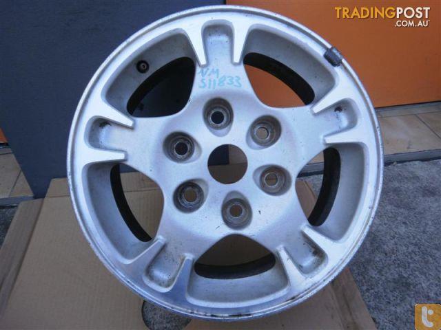 Mag Wheel Mitsubishi Pajero Nm 16 Inch Genuine Alloys For