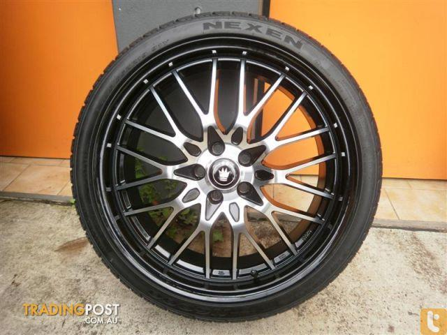 wheels tyres konig lace 19 inch alloy wheels for sale in carramar nsw wheels tyres konig. Black Bedroom Furniture Sets. Home Design Ideas