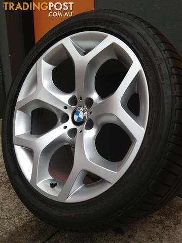 Bmw E70 X5 M Sport Luxury 20 Inch Staggered Alloy Wheels Tyres