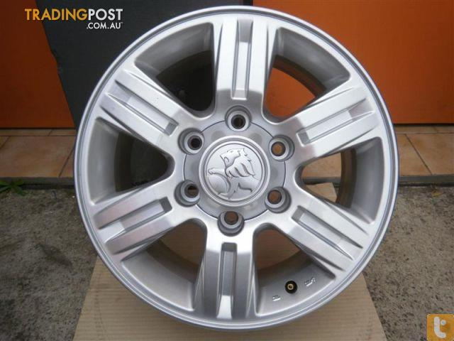 Alloy Mag Wheels Holden Colorado My10 16 Quot Genuine Alloy