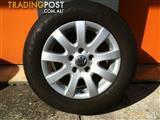 VW GOLF GENERATION 5 15 INCH GENUINE ALLOY WHEELS