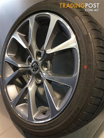 HOLDEN-VF-SSV-19-GENUINE-ALLOY-WHEELS-TYRES