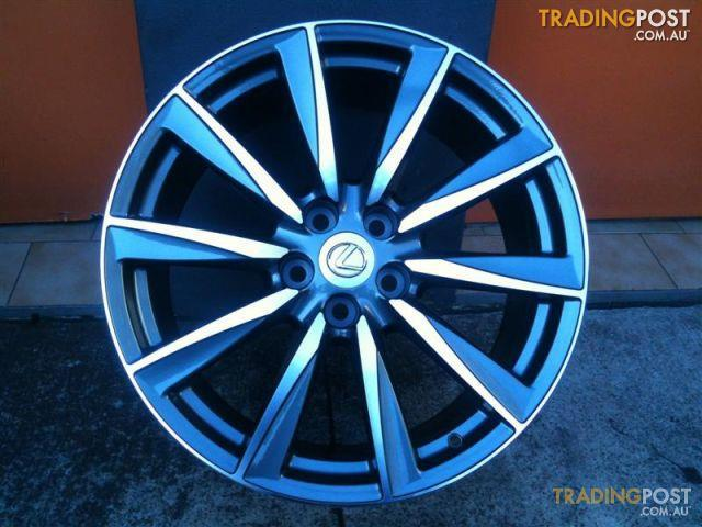 lexus is f 19 inch stg genuine alloy wheels not oem for sale in carramar nsw lexus is f 19. Black Bedroom Furniture Sets. Home Design Ideas