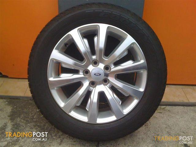 Ford Territory Ghia My12 18 Inch Genuine Alloy Wheels For