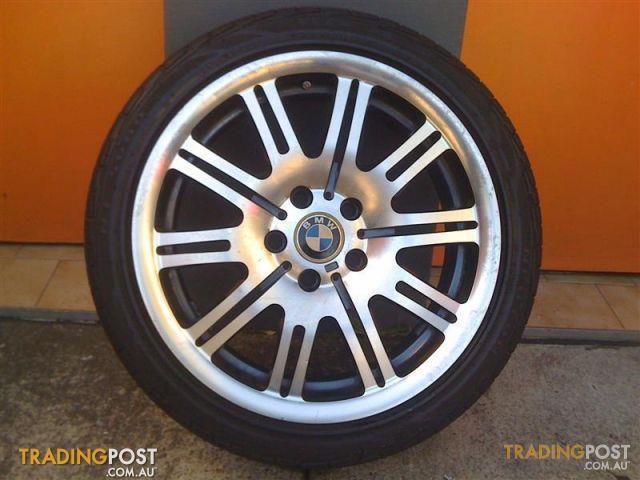 Bmw E46 M3 18 Inch Replica Alloy Wheels