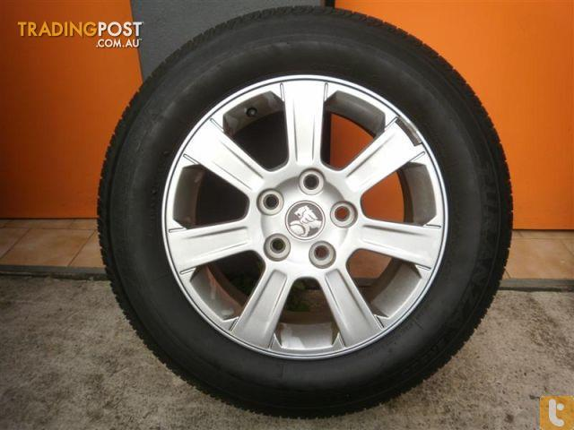 Used Car Rims >> WHEELS-TYRES-HOLDEN-COMMODORE-VE-16INCH-GENUINE-ALLOY