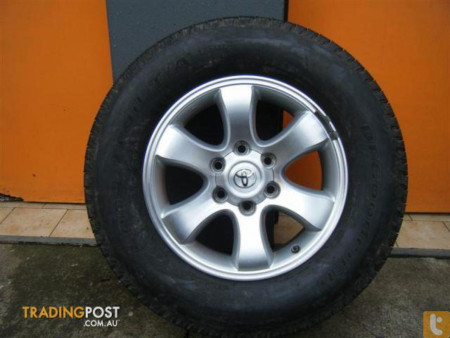 Toyota prado grande 17 inch genuine alloy wheels for sale for 17 inch d window wheels
